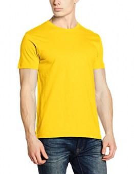Clique Herren New Classic T-Shirts, gelb, XXXL - 1