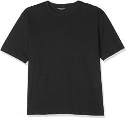 Jacamo Herren Crew T-Shirt Regular T-Shirt, Schwarz (Black 001), XXXX-Large - 1