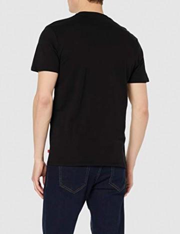 Levi's Herren, T-Shirt, Graphic Set-In Neck, Schwarz (Black), Gr. 3XL - 3