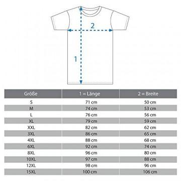 Logostar - Basic T-Shirt - Übergrößen bis 15XL / Charcoal, 6XL - 6