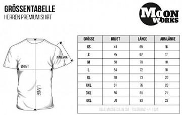 MoonWorks Cooles Herren T-Shirt Moin mit Anker Shirt Navy 3XL - 4