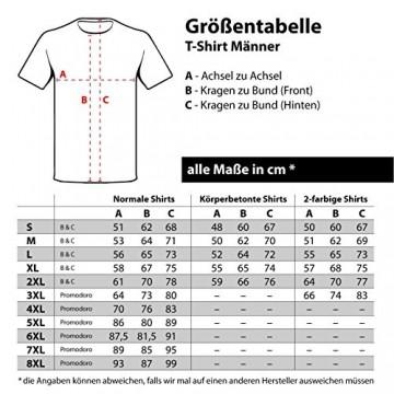 Spaß kostet Marke Tshirt Promodoro unbedruckt grau in Übergrössen 6XL 7XL 8XL - 2