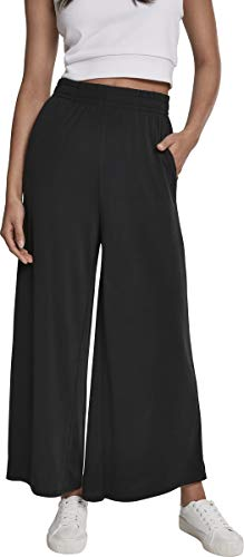 Urban Classics Damen Ladies Modal Culotte Hose, Schwarz (Black 00007), 3XL - 1