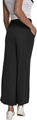 Urban Classics Damen Ladies Modal Culotte Hose, Schwarz (Black 00007), 3XL - 2