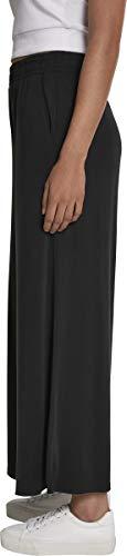 Urban Classics Damen Ladies Modal Culotte Hose, Schwarz (Black 00007), 3XL - 3