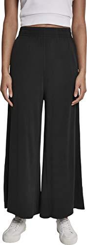 Urban Classics Damen Ladies Modal Culotte Hose, Schwarz (Black 00007), 3XL - 4