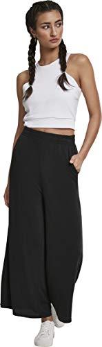 Urban Classics Damen Ladies Modal Culotte Hose, Schwarz (Black 00007), 3XL - 6